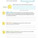 Shoot for the Stars Goal Sheet